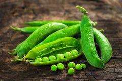 Fresh Homemade Peas Royalty Free Stock Photo