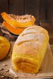 Fresh homemade pumpkin bread Stock Image