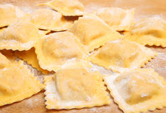 Fresh Homemade Ravioli Stock Image