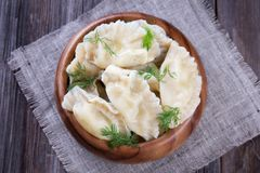 Fresh Homemade Ravioli Royalty Free Stock Image