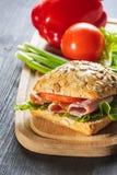 Fresh Homemade Sandwich Stock Images