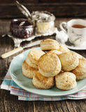 Fresh homemade scones Stock Images