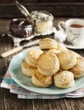 Fresh homemade scones Stock Images
