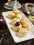 Fresh homemade scones Stock Photography