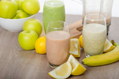 Fresh homemade smoothie Royalty Free Stock Photography