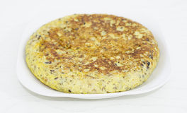 Fresh homemade Spanish tortilla Royalty Free Stock Photography