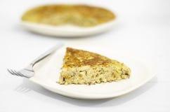 Fresh homemade Spanish tortilla Stock Photography