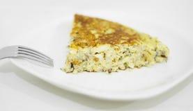 Fresh homemade Spanish tortilla Stock Images