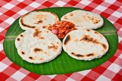 Fresh Homemade Sri Lankan Pol Rotti Stock Photos