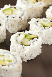 Fresh Homemade Sushi Roll Royalty Free Stock Photos