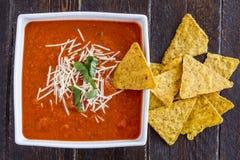 Fresh Homemade Tomato Soup Stock Photos