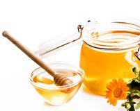 Fresh honey Stock Photography