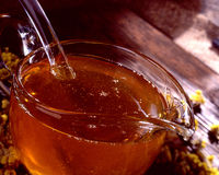 Fresh honey Stock Photos