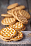 Fresh honey cookies Royalty Free Stock Photos
