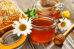 Fresh honey Stock Image