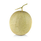 Fresh honeydew Melon on White Background. Fresh honeydew Melon on a  White Background Royalty Free Stock Image