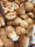 Fresh Hot bread rolls Stock Images