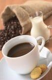 Fresh Hot Coffee Stock Photos