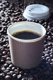 Fresh Hot Coffee Royalty Free Stock Images