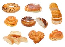 Fresh hot crossed buns Royalty Free Stock Photos