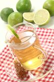 Fresh hot lemon tea Stock Images