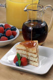 Fresh hot  pancakes Stock Image