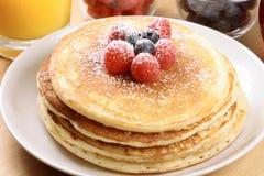 Fresh hot  pancakes Stock Images
