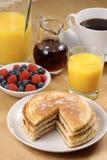 Fresh hot  pancakes Stock Photo