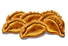 Fresh hot pastries Royalty Free Stock Photography