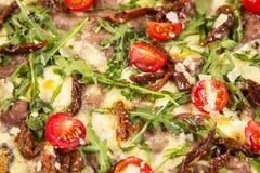 Fresh hot pizza Royalty Free Stock Photos