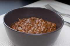 Fresh hot spicy beef rendang Stock Image