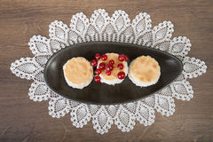 Fresh tasty biscuits Stock Image