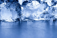 Fresh ice background Stock Photo