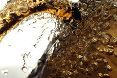 Fresh ice beer stock photos