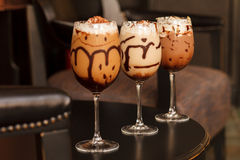 Fresh ice coffee Royalty Free Stock Photos