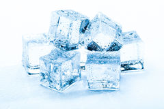 Fresh ice cubes Royalty Free Stock Photography
