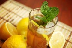 Fresh ice tea Stock Photo