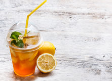 Fresh ice tea Royalty Free Stock Images