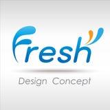Fresh icon Royalty Free Stock Image