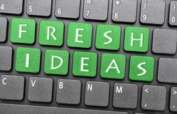 Fresh ideas Stock Photo