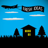 Fresh ideas Stock Images