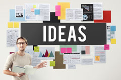 Fresh Ideas Action Thoughts Vision Proposal Concept Royalty Free Stock Photo