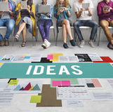 Fresh Ideas Action Thoughts Vision Proposal Concept Royalty Free Stock Photos