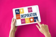Fresh Ideas Creative Thinking Concept. Fresh Ideas Creative Inspiration Concept Stock Photography