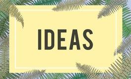 Fresh Ideas Design Be Creative Inspiration Concept. Fresh Ideas Design Be Creative Inspiration Royalty Free Stock Images