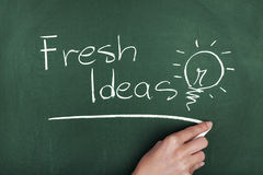 Fresh Ideas Royalty Free Stock Photos