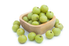 Fresh Indian gooseberry Royalty Free Stock Photos