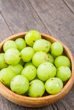 Fresh Indian gooseberry Royalty Free Stock Photo