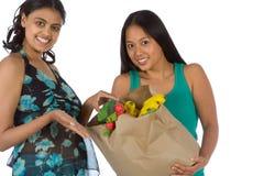 fresh indian latina shopping vegetables Στοκ Φωτογραφίες