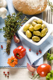 Fresh ingredients Royalty Free Stock Photography